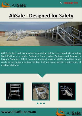 AliSafe: First Class Ladders Access Platform