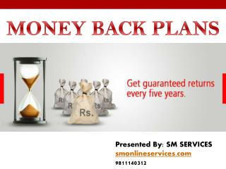Best money back investment plan