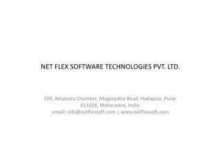Net Flex Software Technologies PVT. LTD.