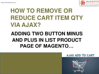 Ajax Cart Magento Extension By FME