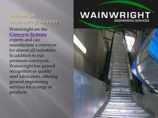Conveyor Belt Wainwright Engineering Services