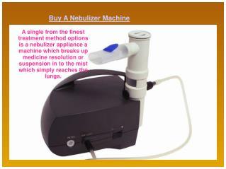 Buy A Nebulizer Machine