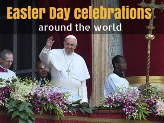 Easter Day celebrations around the world