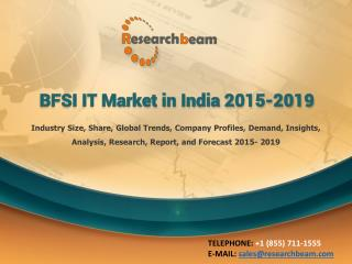 BFSI IT Market in India 2015-2019
