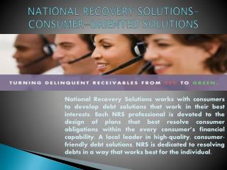 National Recovery Solutions