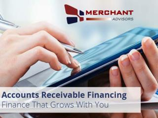 Accounts Receivable Financing from Merchant Advisors