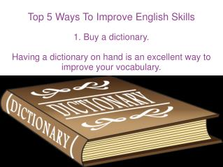Top 5 Ways To Improve English Skills
