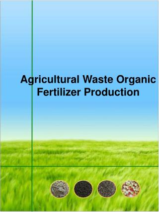 Agricultural Waste Organic Fertilizer Production