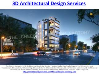 3D Architectural Design Services