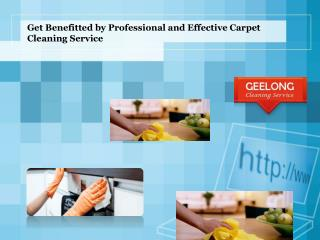 Get Benefitted by Professional and Effective Carpet Cleaning
