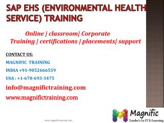 sap ehs online training in canada