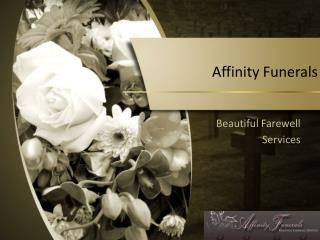 Affinity Funerals Pty Ltd