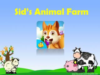 Sid's Animal Farm - Kids Games