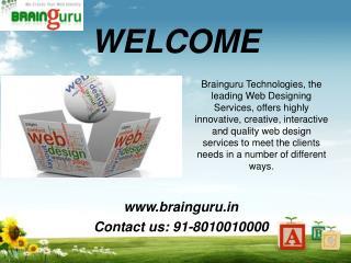 Web designing services in noida
