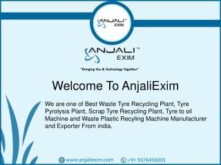 waste tyre recycling plant machinery manufacturers in india