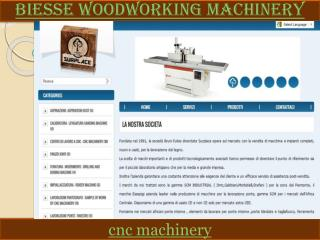 Biesse woodworking machinery