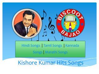 Kishore Kumar Hits Songs