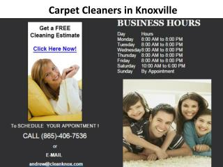 Carpet Cleaners Knoxville