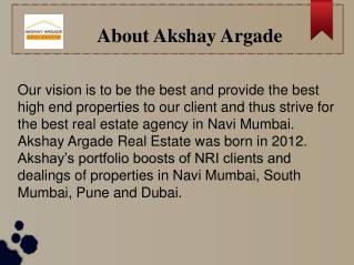 High end luxury apartments navi mumbai