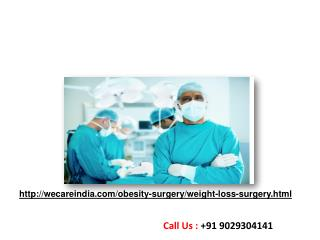 Weight Loss Surgery & Obesity Surgery in India
