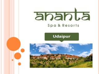 Ananta Spa & Resort Udaipur Mudra The Spa