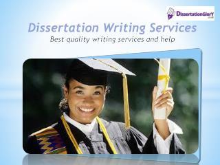 Buy Online Dissertation help