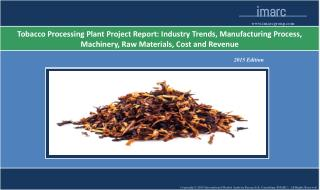 Tobacco Processing Plant Project Report