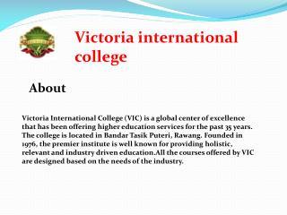 Best international college