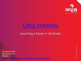 CATIA Training Course in Hyderabad - Ikyaglobaledu