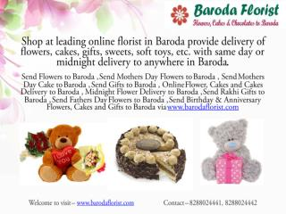 Send Flowers to Baroda