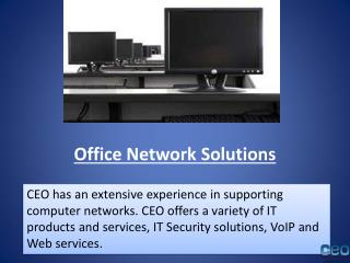 Office Network Solutions | IT support in Los Angeles