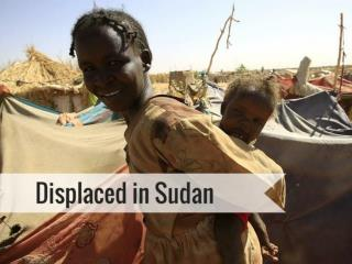 Displaced in Sudan