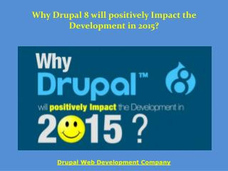 Drupal 8 Features in 2015