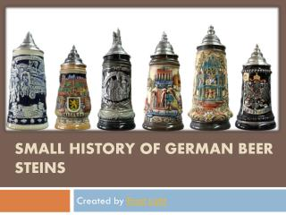 Antiquity on German Beer steins