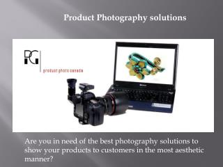 Product Photography Solution