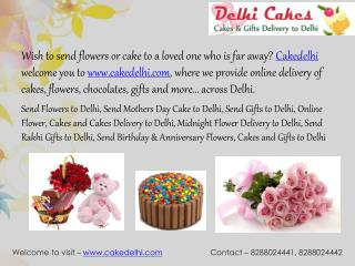 Send Cake to Delhi