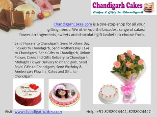 Send Cakes to Chandigarh