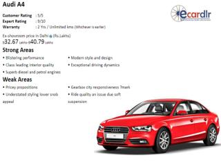Audi A4 Prices, Mileage, Reviews and Images at Ecardlr