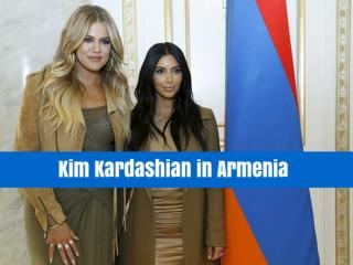 Kim Kardashian in Armenia
