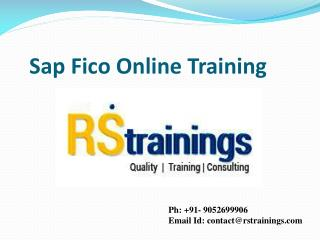 SAP FICO Training in Hyderabad | SAP FICO Online Training