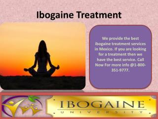 Ibogaine Drug Treatment