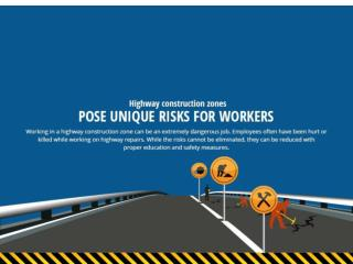 Highway Construction Zones Pose Unique Risks for Workers