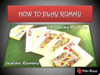 Play Rummy for Real Money