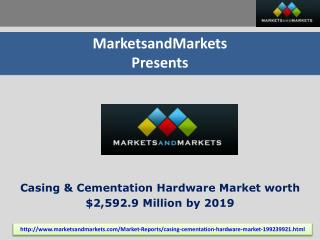 Casing and Cementation Hardware Market by Equipment, by Appl