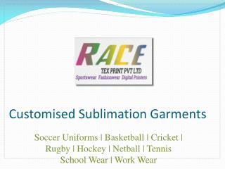 Sublimation Garments Manufacturers   Sports Uniforms Supplie
