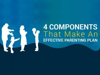 4 Components That Make An Effective Parenting Plan