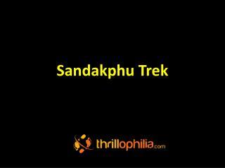 Sandakphu Trek