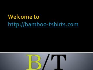 Buy Best Quality Bamboo Clothes for Men and Women Online