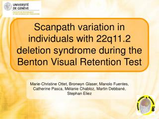 Scanpath variation in individuals with 22q11.2 deletion syndrome during the Benton Visual Retention Test