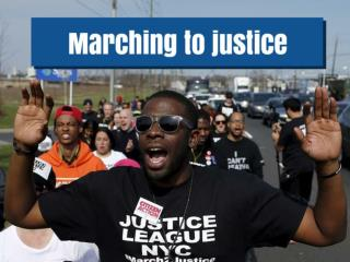 Marching to justice
